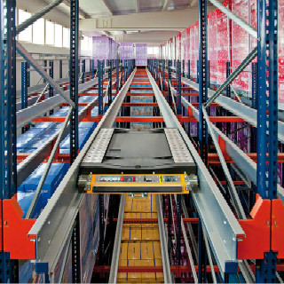 Shuttle Racking Storage System & Radio Shuttle Racking Storage System