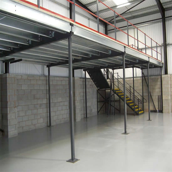 Mezzanine Storage Systems : Warehouse storage mezzanine racking system