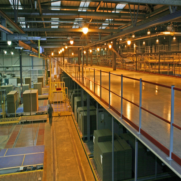 Rack Supported Mezzanine Platform