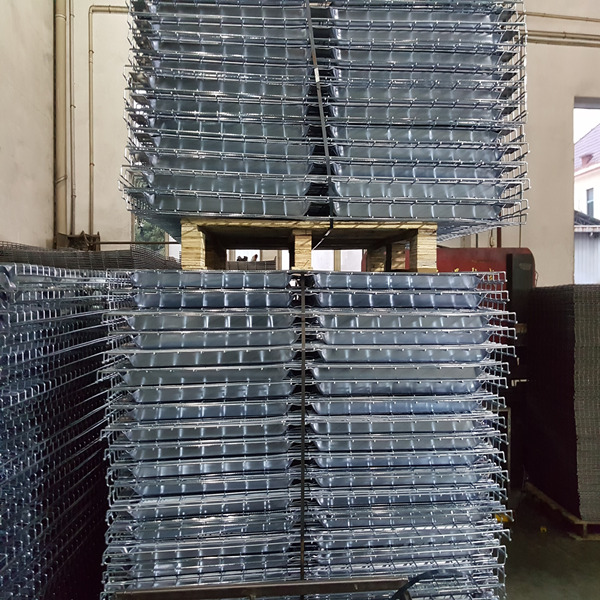 Steel Wire Mesh Decking for Pallet Racks