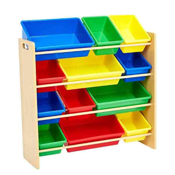 plastic kids toy storage box bin